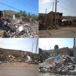 گزارش کمک رسانی به زلزله زدگان ورزقان و اهر