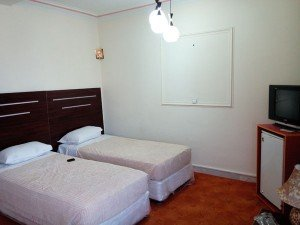 نمایی از سوییت 2 تخته هتل ملکشاه