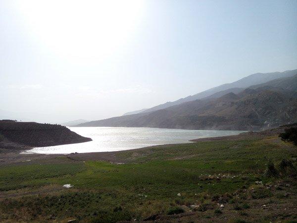 سد سفید رود در منجیل