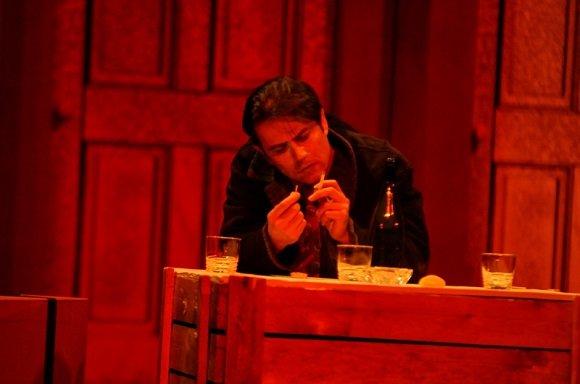 رحیم نوروزی در تئاتر مرگ فروشنده