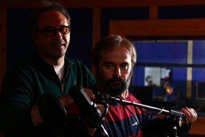 علی مصفا و حمید فرخنژاد در فیلم چاقی
