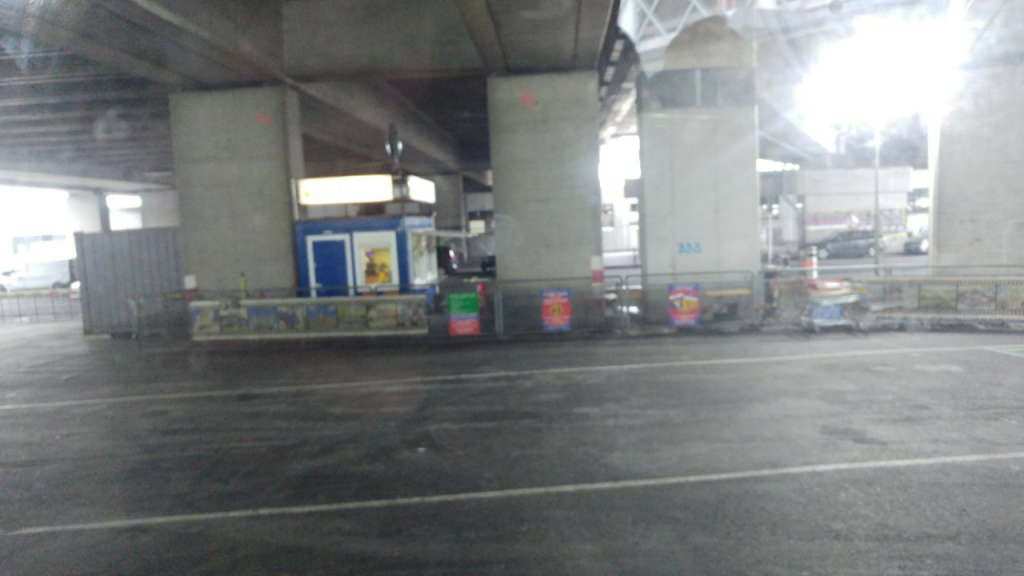 ایستگاه انتظار فلکسی باس  Flixbus  وین