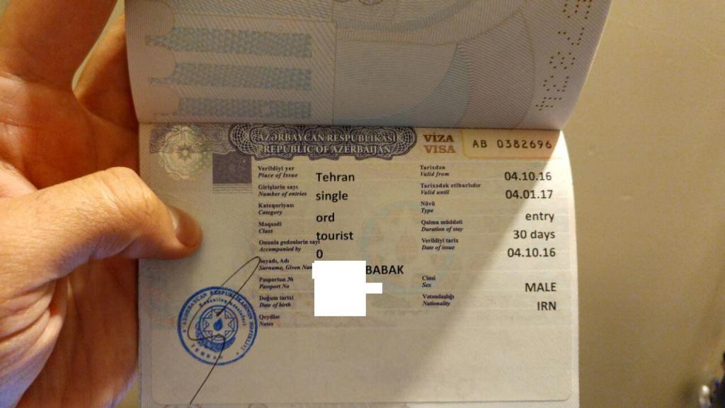 ویزا توریستی آذربایجان باکو