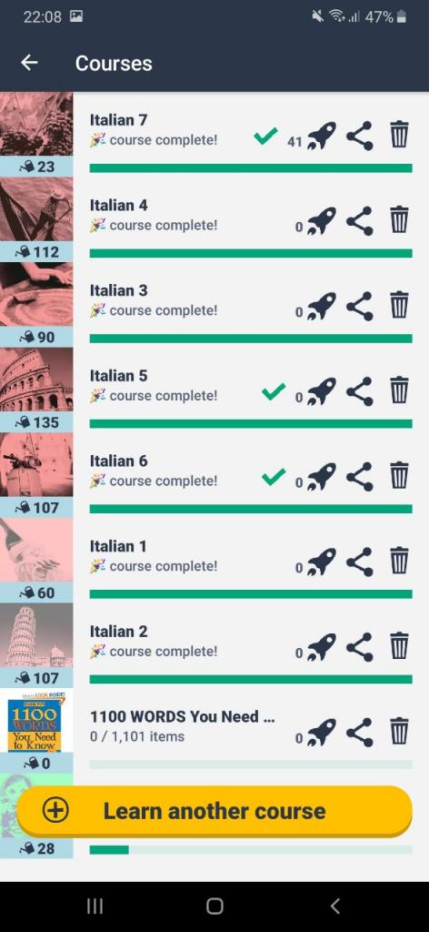 یادگیری زبان ایتالیایی با ممرایز Memrise