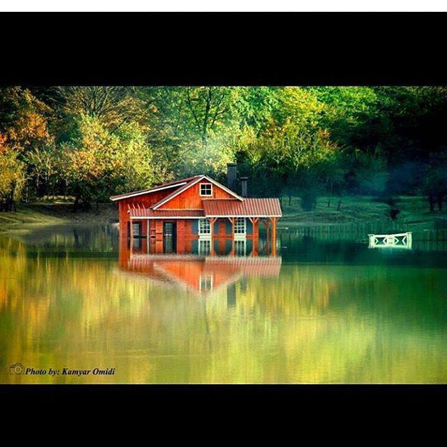 عکس خونه سد سقالکسار قبل غرق شدن