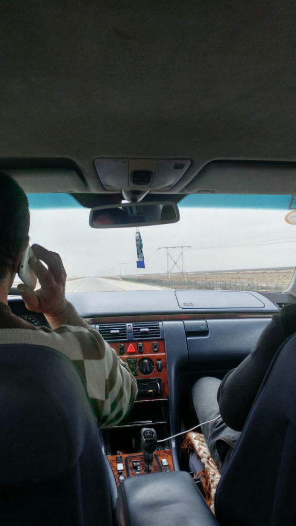 تاکسی به سمت باکو از مرز ایران