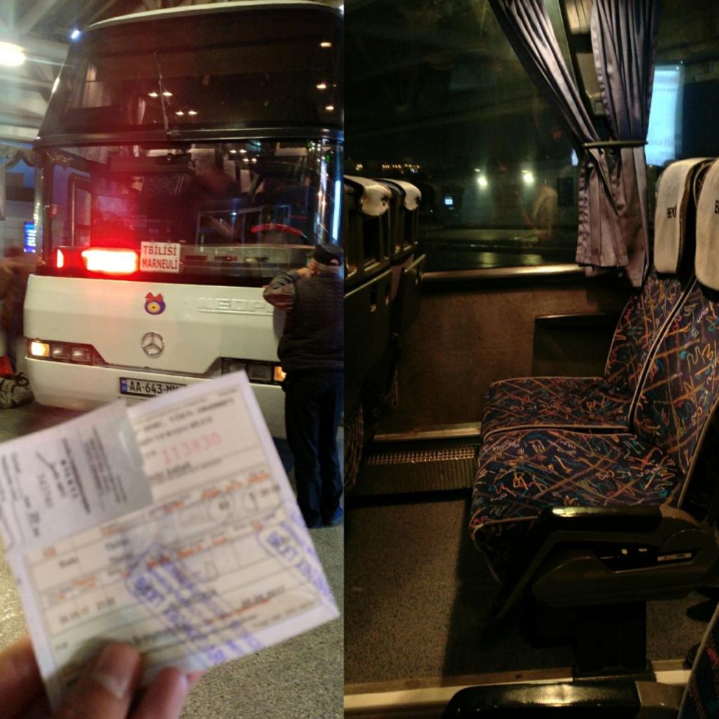 اتوبوس باکو به تفلیس