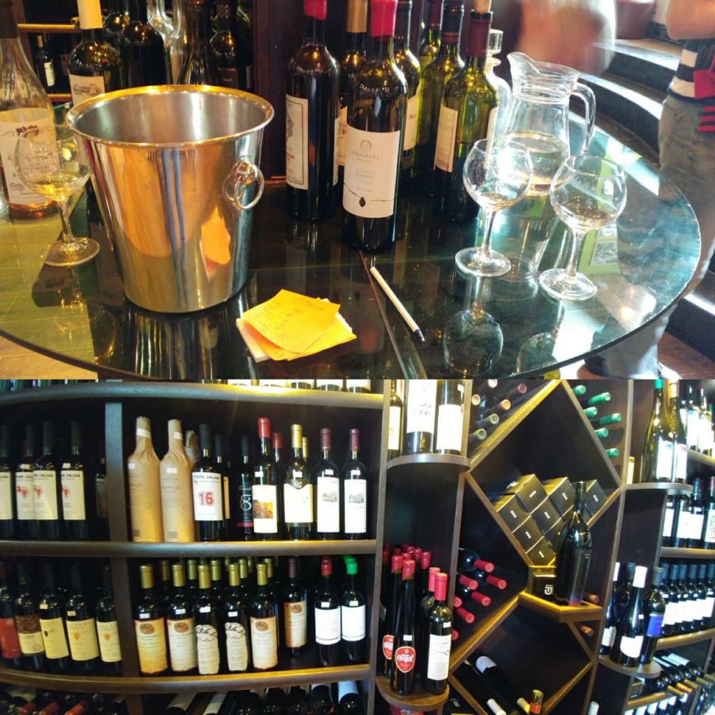 شراب فروشی در تفلیس گرجستان