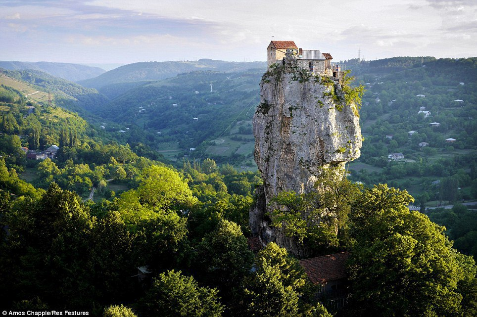 Katskhi pillar  گرجستان