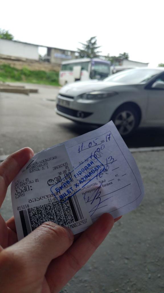 بلیط اتوبوس تفلیس به باکو