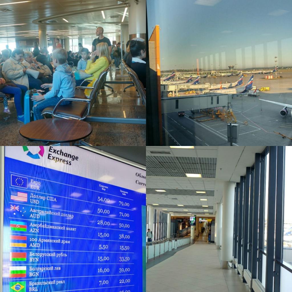 فرودگاه روسیه  Sheremetyevo International Airport (SVO)