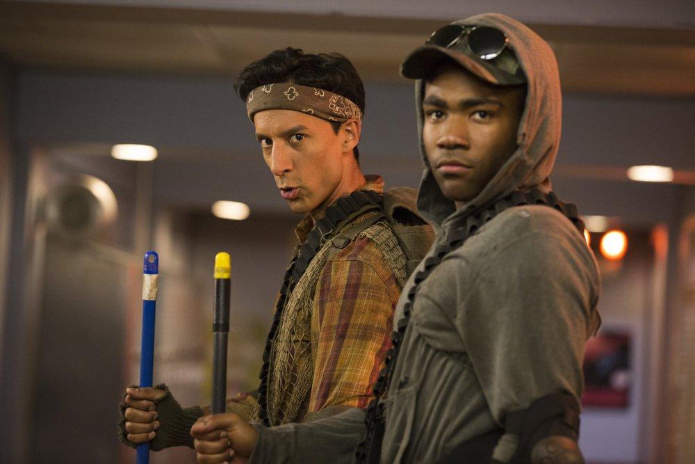 شخصیت Abed و Troy در سریال کامینیتی