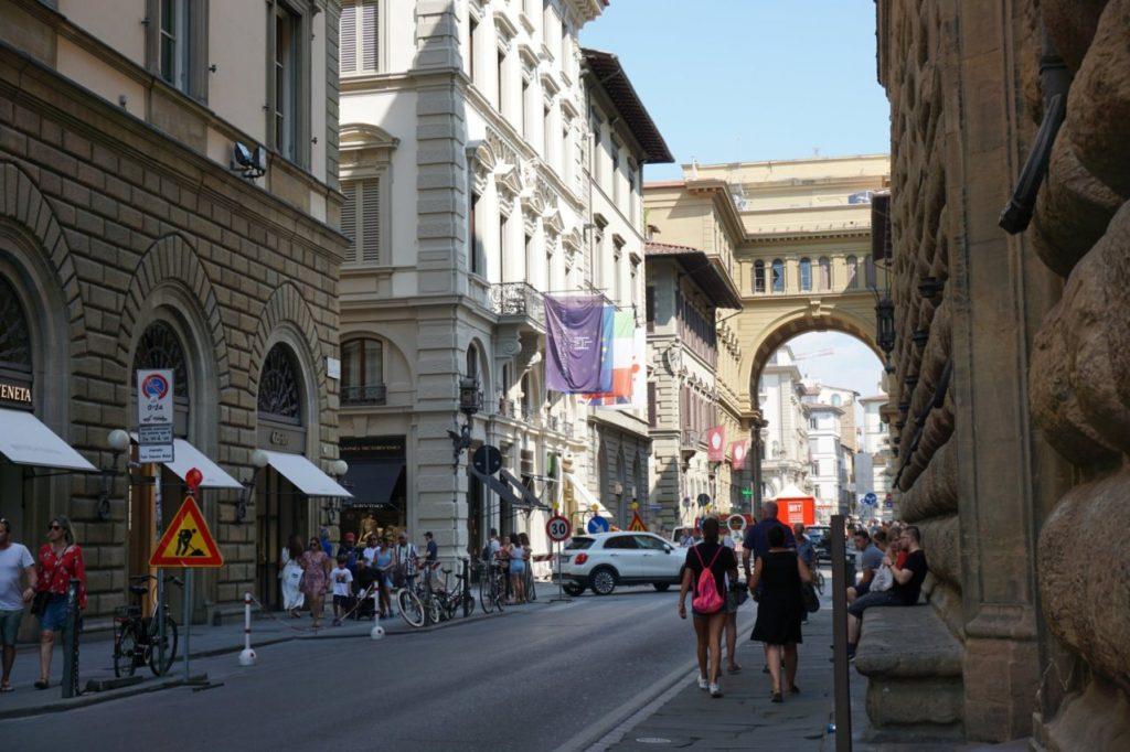 خیابون های شهر فلورانس ایتالیا