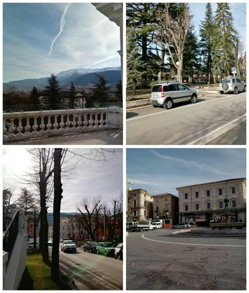 عکسهایی از مناطق تقریبا بازسازی شده شهر زلزله زده لاکوئیلا ایتالیا