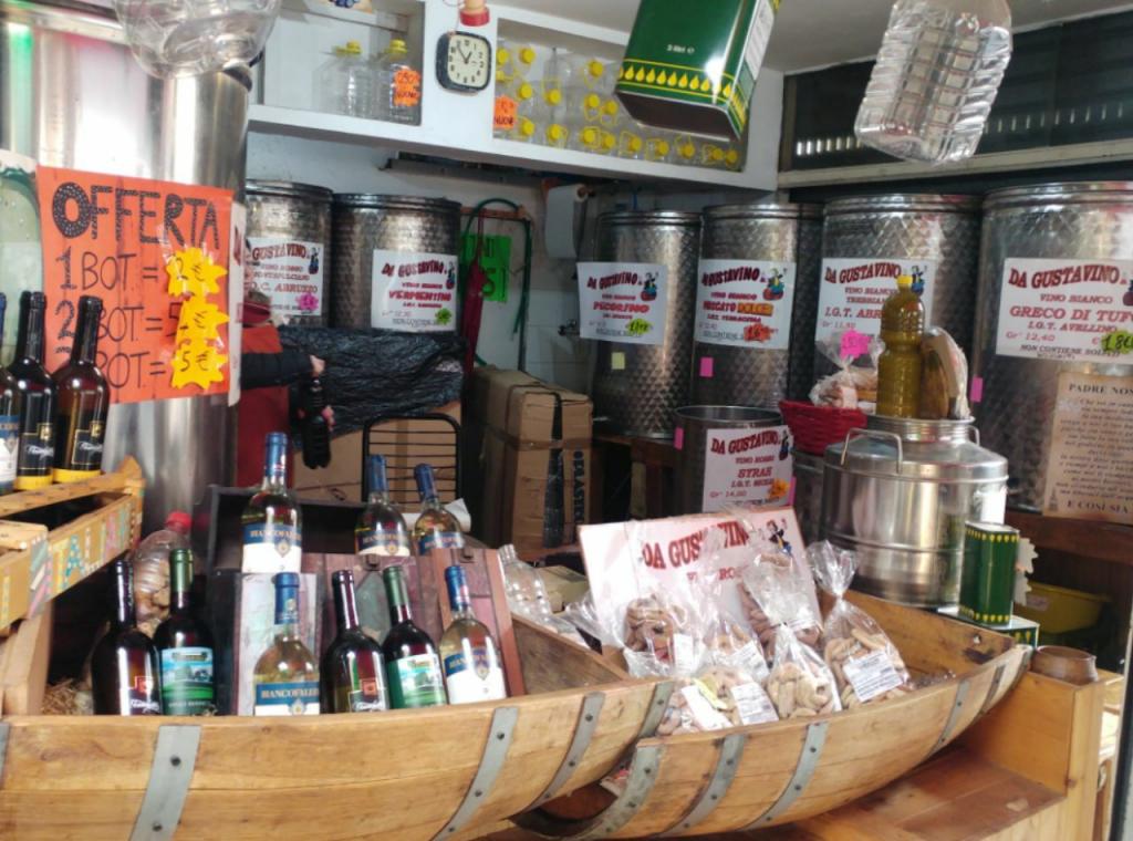 شراب فروشی در رُم ایتالیا