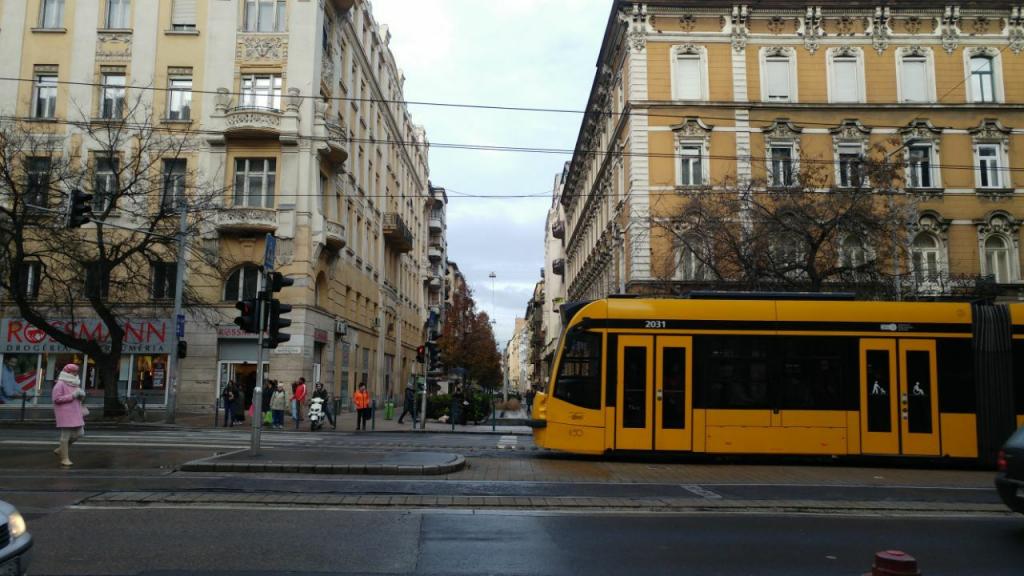 خیابونهای شهر بوداپست