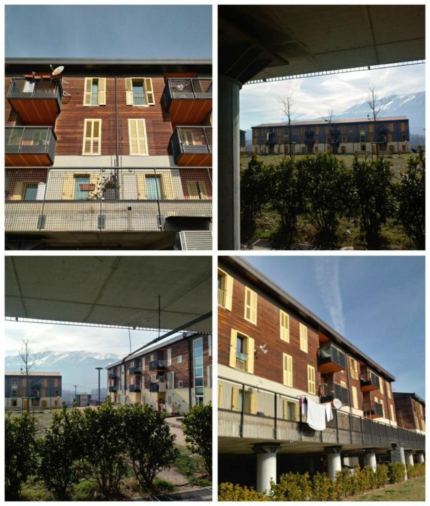 شهرکهای ساخته شده در اطراف شهر لاکوئیلا ایتالیا