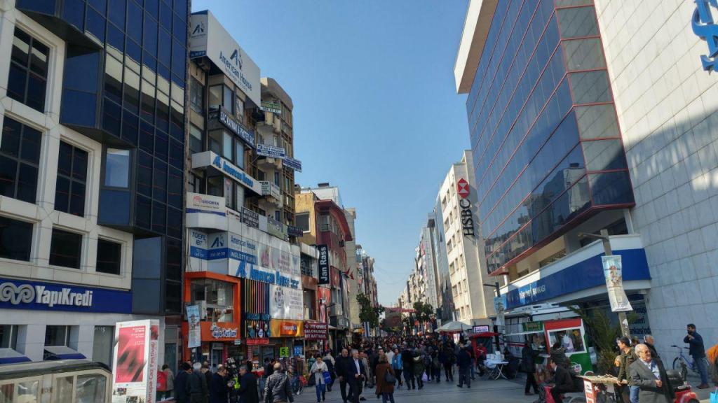 خیابونهای ازمیر ترکیه
