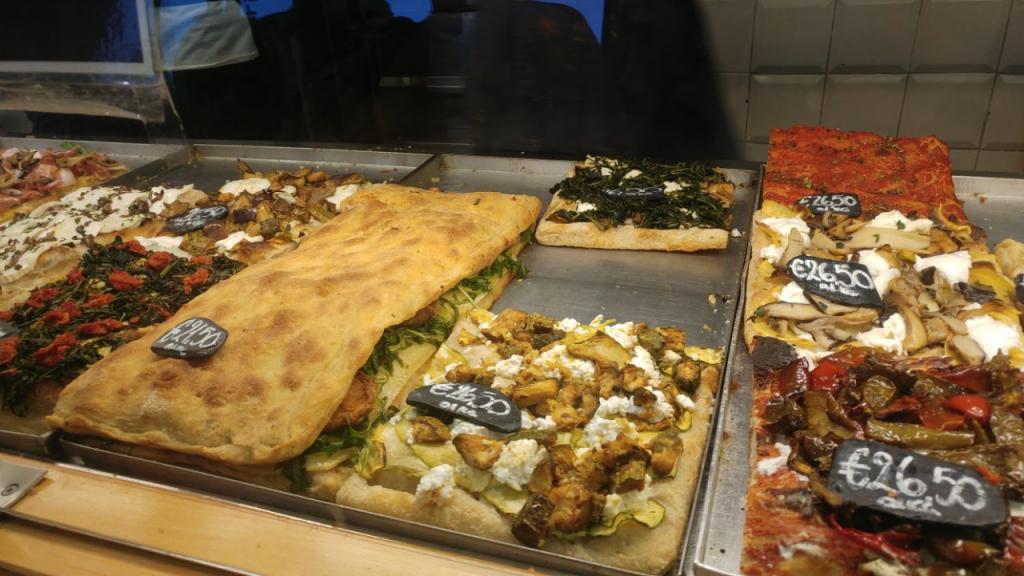 پیتزا ایتالیایی رُم