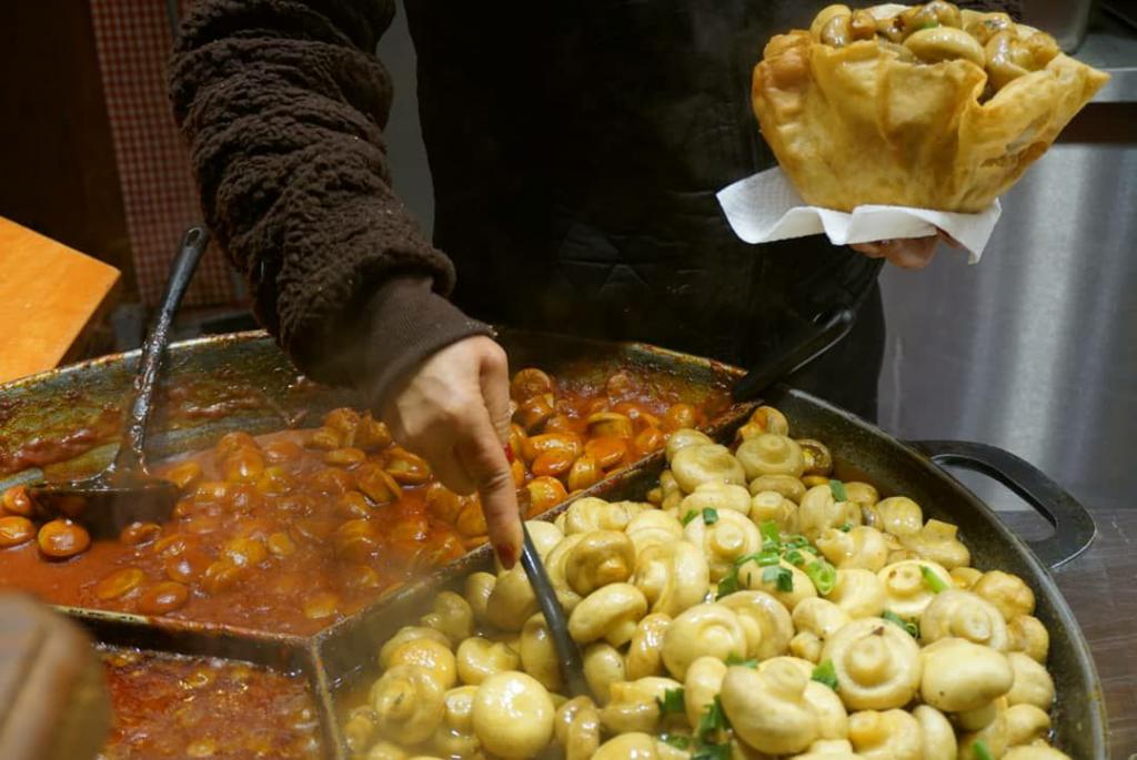 غذایهای خیابونی مخصوص بازار کریسمسی برلین